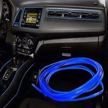Отделка интерьера автомобиля, молдинг 5 м для Mitsubishi ASX Lancer 10 9 Outlander Pajero для Suzuki Swift Grand Vitara SX4 Vitara
