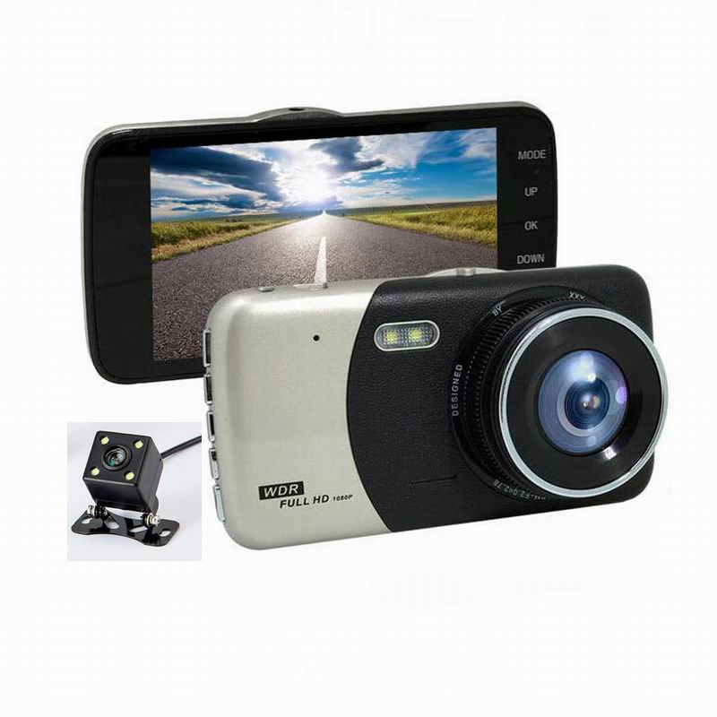 Dual Lens Car Dvr X600 Wdr Full Hd 1080p Car Dash Camera