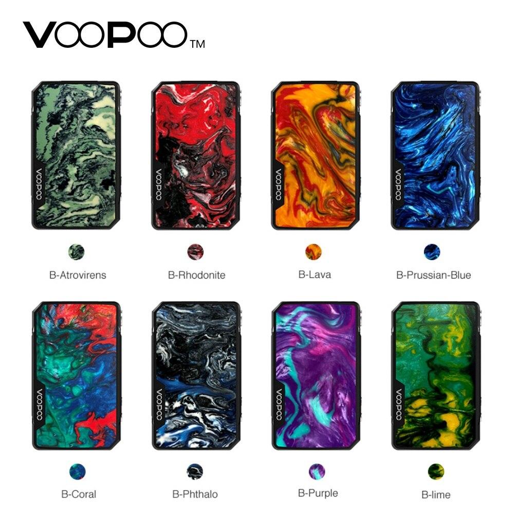 En Stock! 117 W VOOPOO glisser Mini Mod Vape 4400 mah E Cigarette 510 fil Vape vaporisateur électronique boîte à cigarettes Mod VS glisser 2