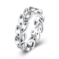 Sterling Silver Jewelry Multi Leaf Ring Silver 925 Jewelry 100 Real Solid 925 Silver Rings For