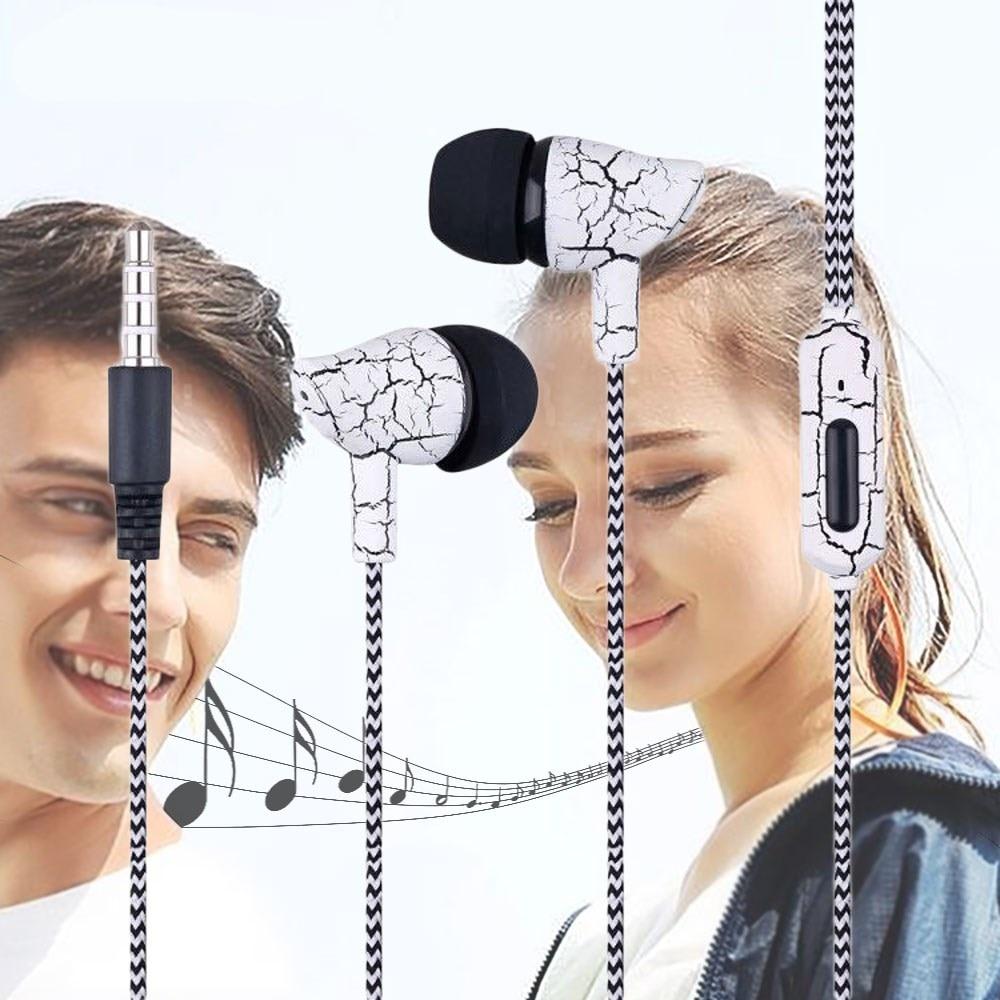 Pluseye Super Basss Earphone Mini Wired Headset 3.5mm Stereo Music Sports Earphone Mic for Xiaomi Samsung