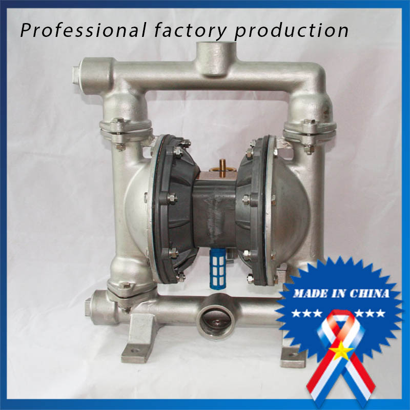 0-8m3/h QBY-40 Stainless Steel 304 Glue Diaphragm Pump with Diaphragm