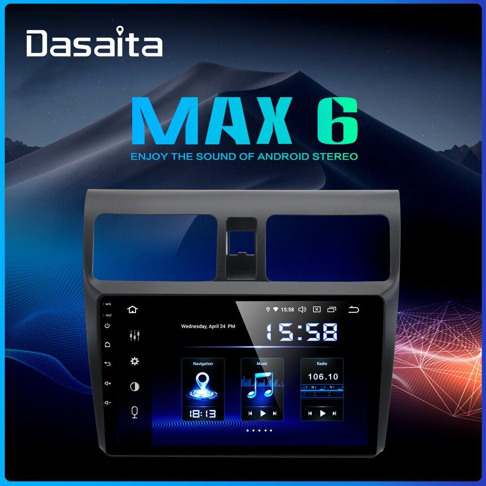 Dasaita 10 2 IPS Android 9 0 Car Radio DSP for Suzuki Swift 2005 2006 2007