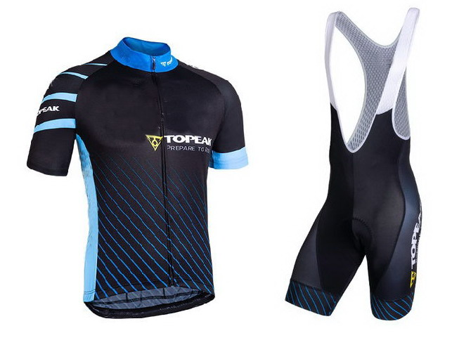 2018 TOPEAK TEAM Men s Cycling Jersey Short Sleeve Bicycle Clothing With Bib Shorts Quick Dry