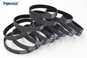 Image 4 - POWGE 10pcs HTD 3M Timing belt 207 3M 9 Perimeter 207mm width 9mm Teeth 69 Rubber HTD3M synchronous belt 207 3M 9 closed loop