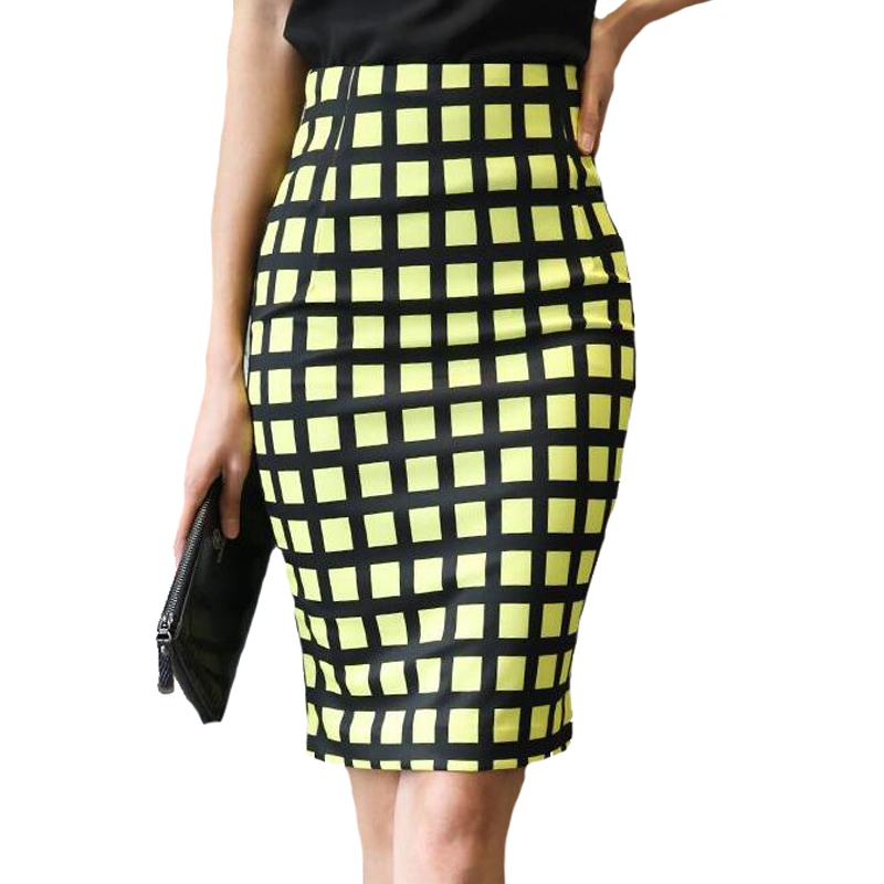Popular Yellow Plaid Skirt-Buy Cheap Yellow Plaid Skirt lots from ...