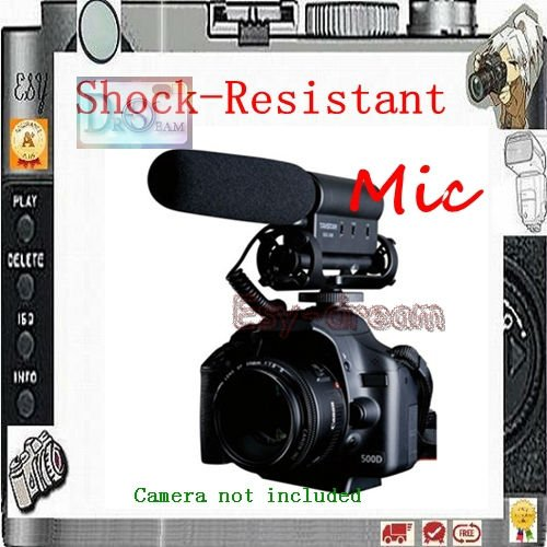 TAKSTAR SGC 598 Shock proof Hotshoe Condenser Recording Microphone Mic for Interview Movie Pickup for DV Camcorder DSLR