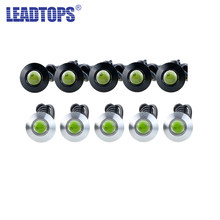 LEADTOPS 100Pcs DRL LED Ultra-sottile di Eagle Eyes Daytime Corsa E Jogging Sorgente di Luce Ha Condotto Le Luci Auto Impermeabile Car Styling 12v CE(China)