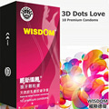 10pcs/box Wisdom quality male ultra thin g spot condoms 3d dots spikes stimulate lubricate sexe contex sex toys products for man
