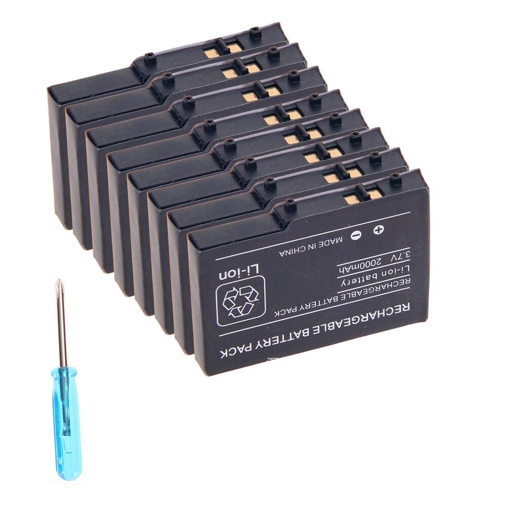 20 x batterie Rechargeable Li-ion + Mini tournevis pour Lites NDSa pour Nintendo DS Lite pour Console NDSLa prix d'usine en gros
