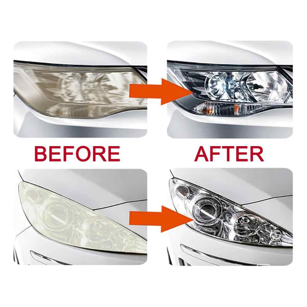 Luduo DIY Lampu Restorasi Polishing Kit Headlamp Bersih Paste Sistem Perawatan Mobil Mencuci Kepala Lampu Brightener Refurbish Perbaikan