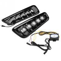 1 пара светодио дный светодиодные дневные ходовые огни поворотов двойной модели DRL для Ford F 150 Raptor 16 1718 автомобиль свет аксессуары Новые посту