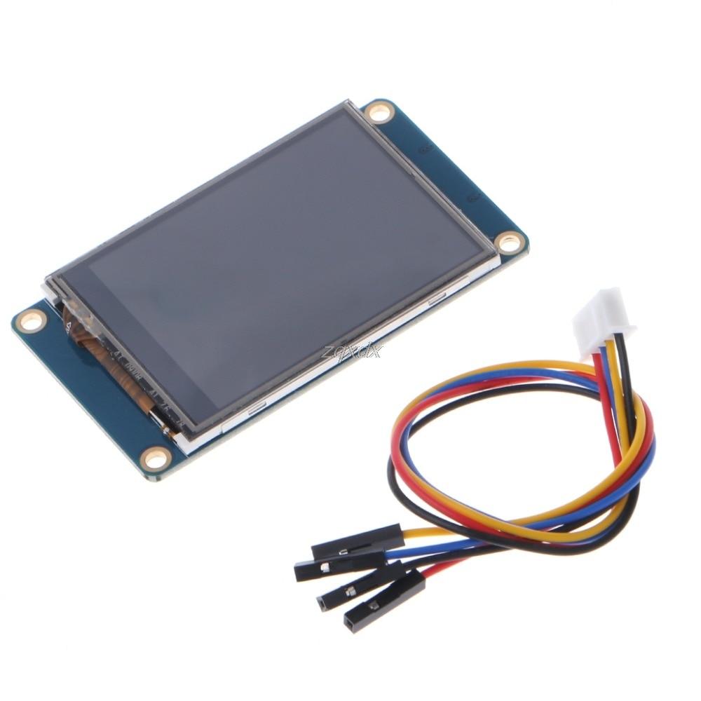 2,4 UART HMI 320x240 pantalla táctil resistente al lámpara inteligente módulo pantalla LCD TFT Z10 de la nave de la gota