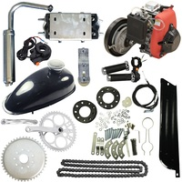 4 Stroke 49cc Gas Petrol Motorized Bicycle Scooter Bike Engine Motor Kit Scooter