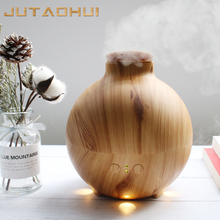 JTH-032 600ml FREE SHIPPING NEW Wood grain household aromatherapy air Essential Oil Diffuser MIST humidifier small smog air xiaomi air humidifier smog free mist free pure evaporate type increase natural air humidity smartmi mute humidifier app control