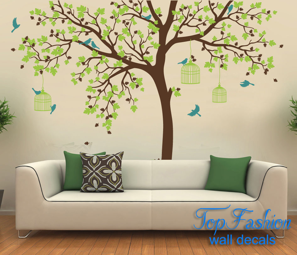 tree wall murals for nursery the image kid has it. Black Bedroom Furniture Sets. Home Design Ideas