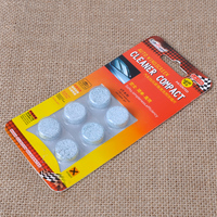 CITALL 6Pcs/pack x 50packs Fine Concentrated Solid Windshield Glass Washer Window Cleaner Compact Effervescent Tablets Detergent