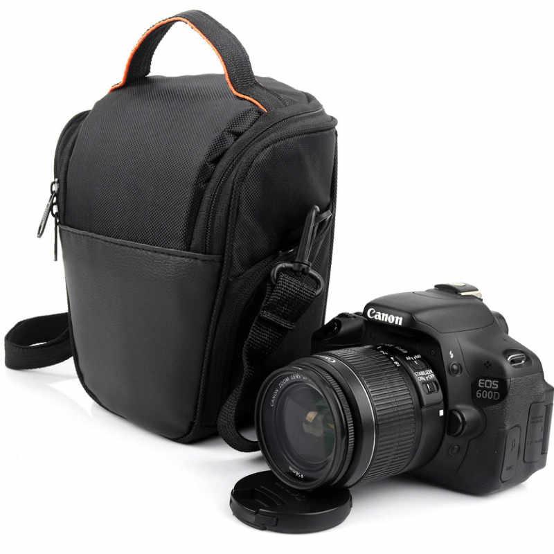 Dslr câmera bolsa de ombro caso para nikon d7200 d7100 d7000 d3400 d3000 d3100 d3200 d700 d810 d800 d600 d90 à prova dwaterproof água foto saco