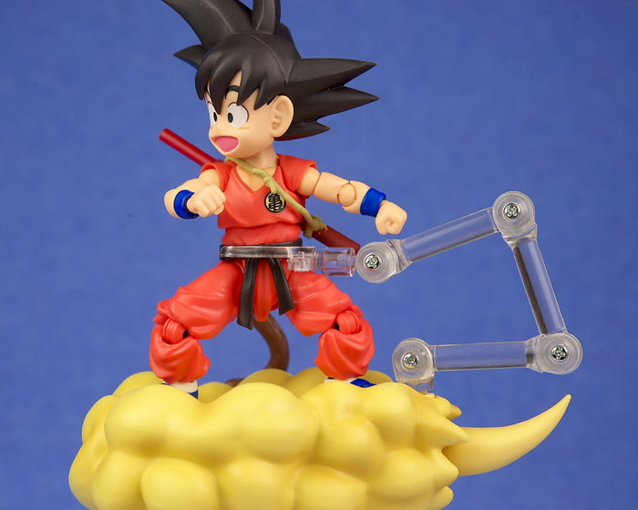 Dragon Ball Young Son Goku on Flying Nimbus Action Figure 7