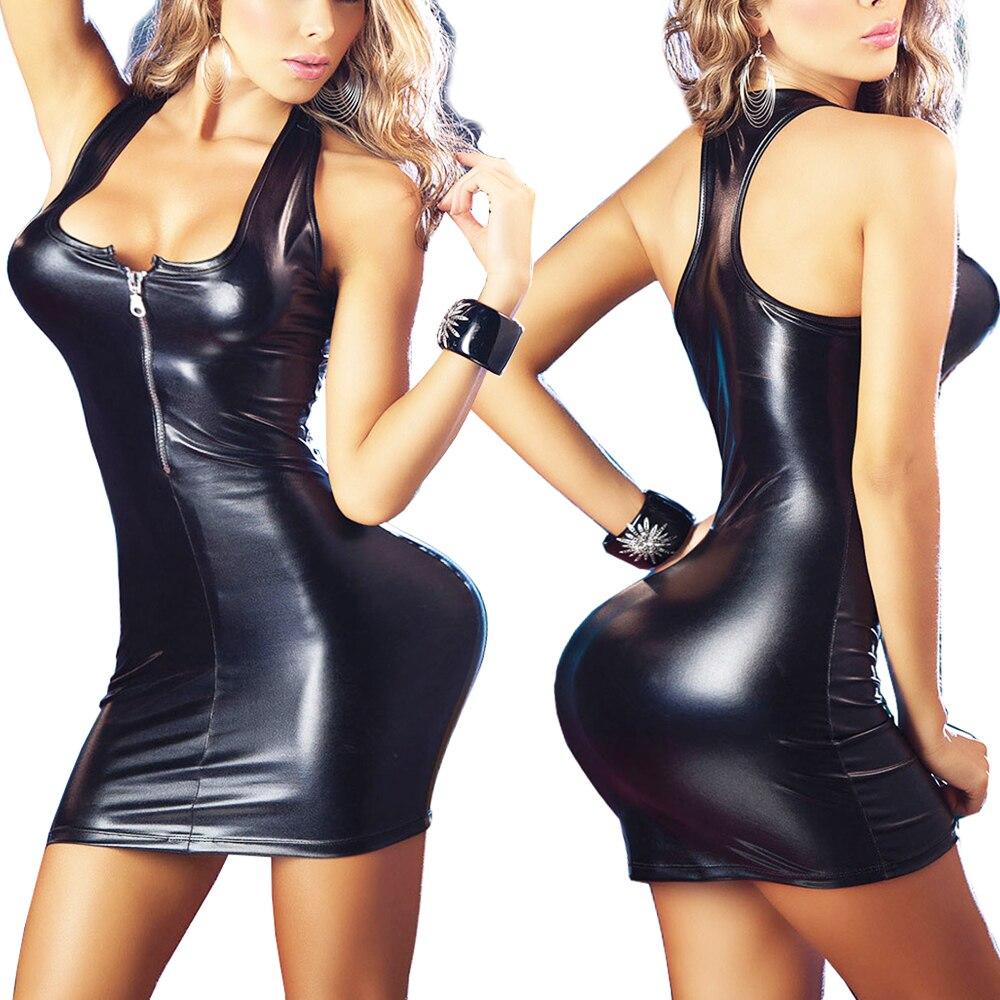Satin dresses stretch erotic