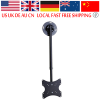 TV Bracket Mount Ceiling Roof 23 Inch To 42 Inch LCD LED Plasma Monitor Flat Tilting