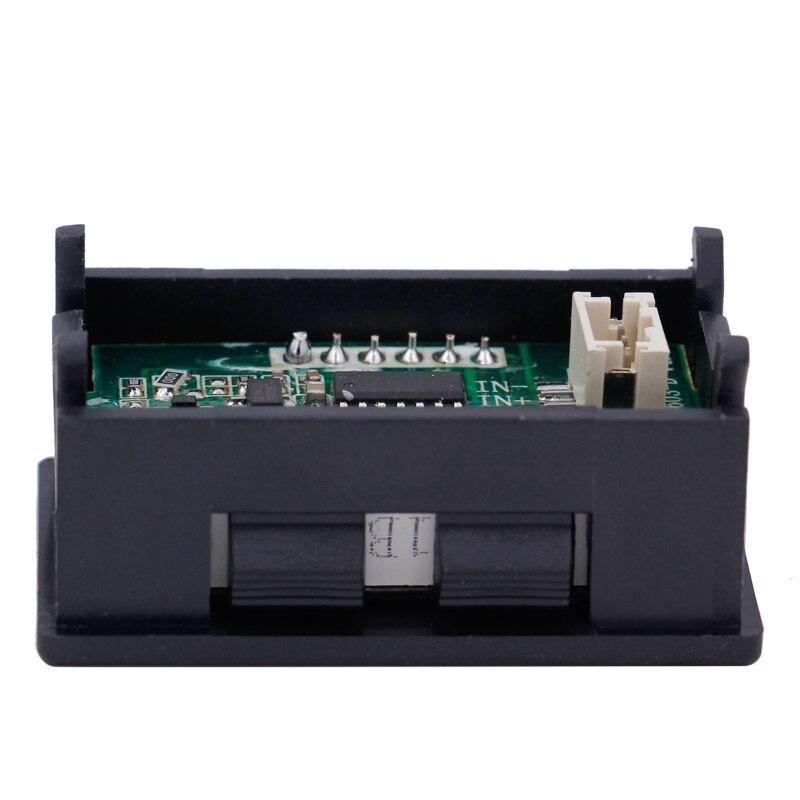 3ece37de1108 Por DHL Fedex digital 0.56 3 bits DC 200 V voltímetro capacitancia panel  display LED rojo voltaje del coche detector Volt Monitores probador