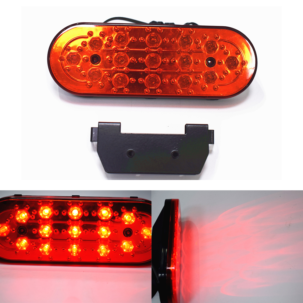 Warning Light!! Universal 15 LED Red Car Rear Strobe Bulb Tail Brake DRL Stop Light Fog Flashing Lamp Lights 12V Brack Light ...