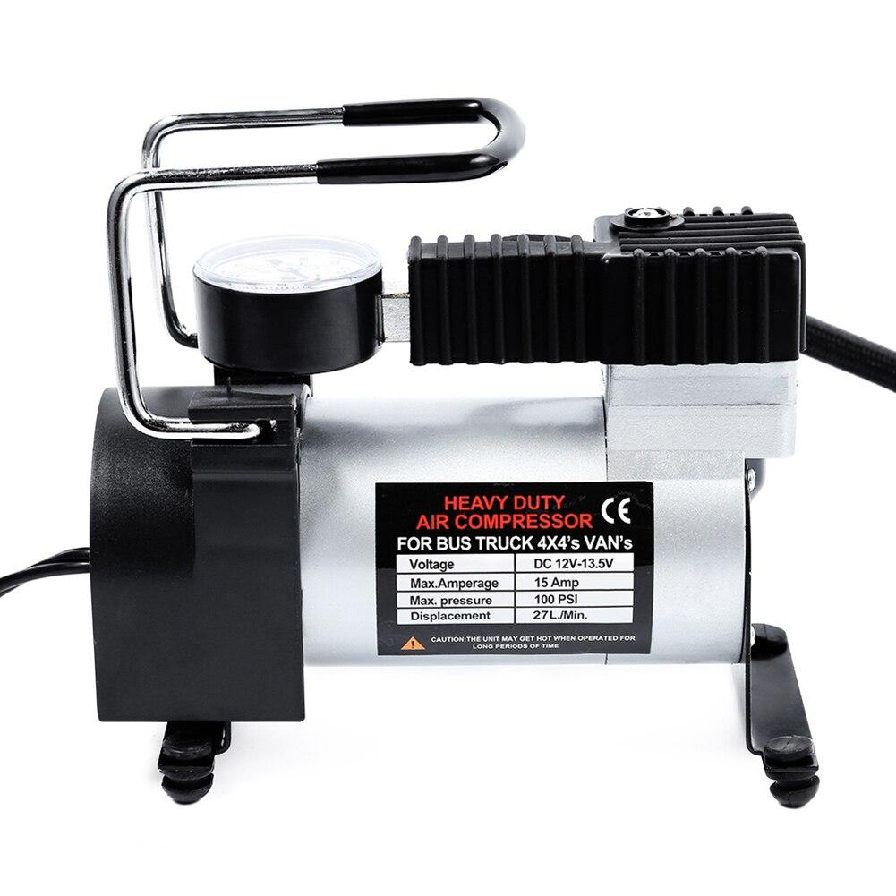 12 V Tragbare Auto Elektrische Luftpumpe Pumpe Luft Kompressor 80PSI Elektrische Reifen Reifen Inflator Pumpe für für Auto Fahrräder Motorcycl