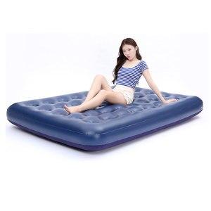 Image 1 - أريكة هوائية قابلة للنفخ سرير قابلة للطي أثاث خارجي حديقة أريكة سرير غرفة المحمولة لينة متعددة الوظائف فراش سرير قابل للطي 5 أحجام