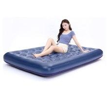 풍선 공기 소파 침대 접는 야외 가구 정원 소파 침실 휴대용 소프트 다기능 매트리스 접는 침대 5 크기