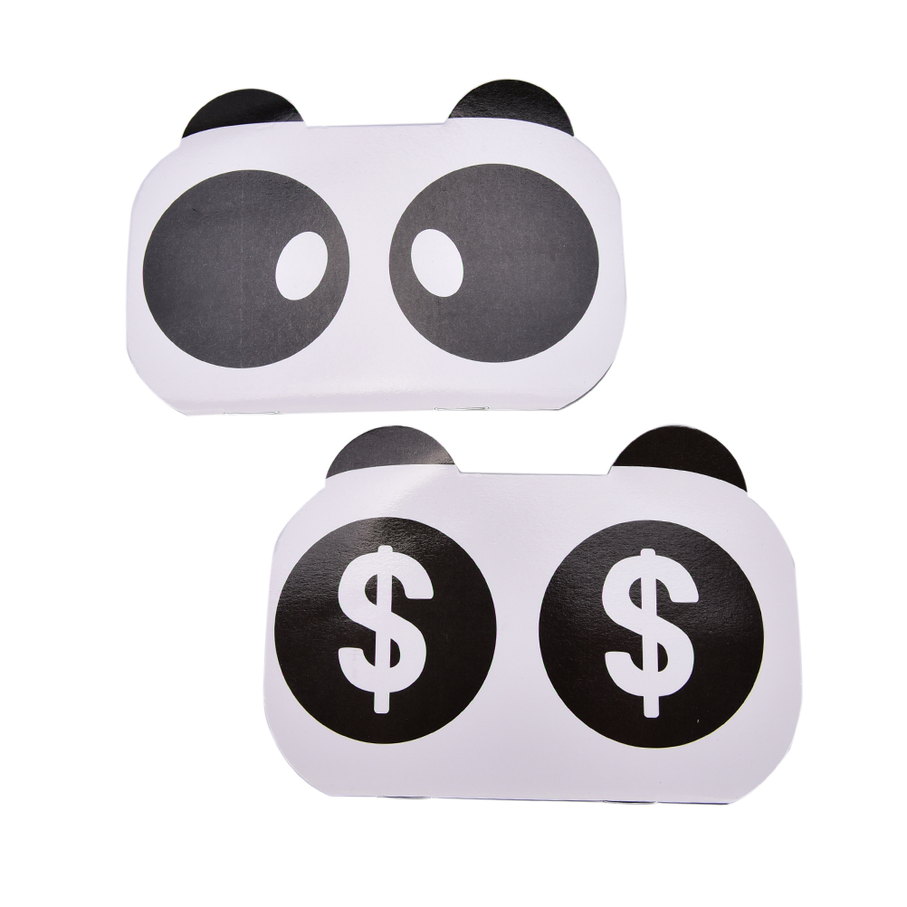 2017 New Kawaii Various Facial Expression Panda Mini Bill Book Notebook Notepad Gift