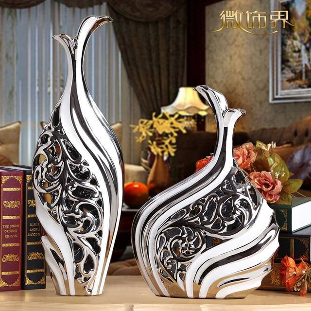 Decoraciones para el hogar de entrada sal n tv gabinete adornos de cer mica artesan a muebles - Decoraciones para el hogar ...