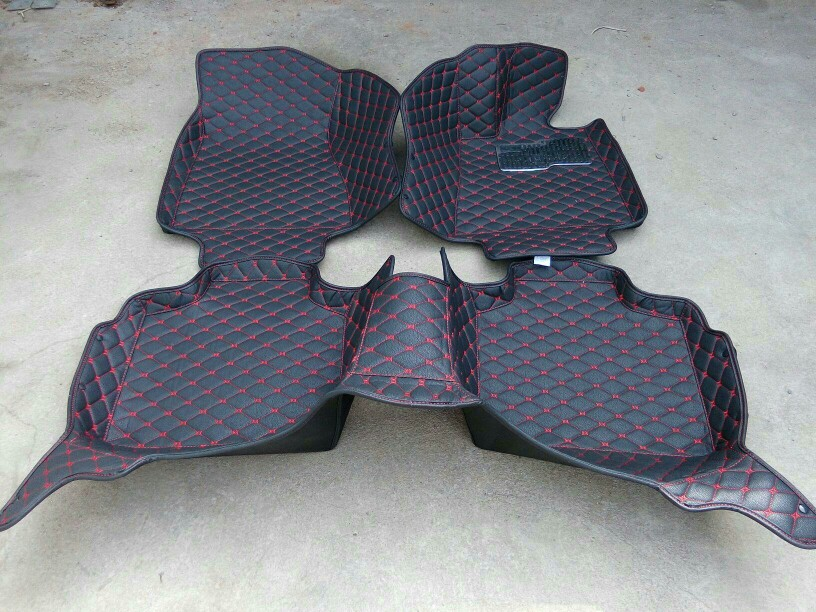 right steering RHD Waterproof Carpets Durable Special Car Floor Mats For NISSAN PATROL JUKE X-TRAIL MURANO SUNNY TIIDA SYLPHY