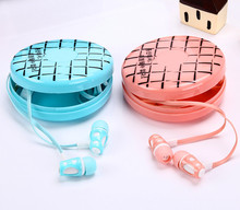 SiciLY Cartoon earphone EV96 Super bass clear voice earphone Headset Mobile Computer MP3 Universal earphone with detail package