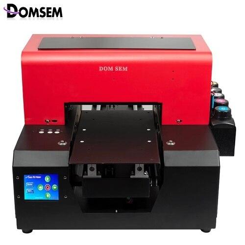 Shenzhen Fabrik Automatische Multicolor A3 Uv-flachbettdrucker Mit Epson Kopf Uv Led System Lcd Touch Screen Büroelektronik