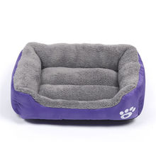 Pet Dog Bed Warming House Soft Material Nest Fall and Winter Warm Kennel For Cat Puppy