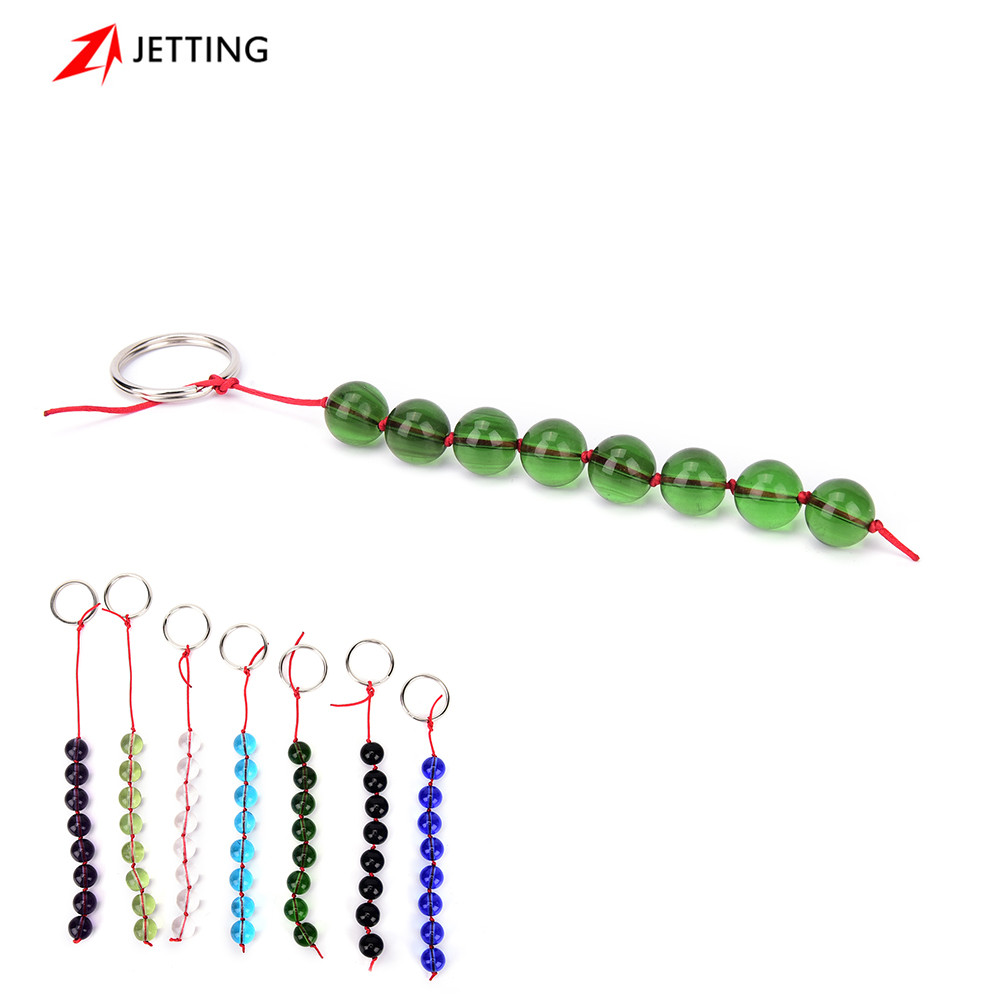 Buy JETTING-Glass Anal Beads Smooth Crystal Balls Butt Plug Sex Toys women men gay,Anal Stimulator Adult Erotic Products