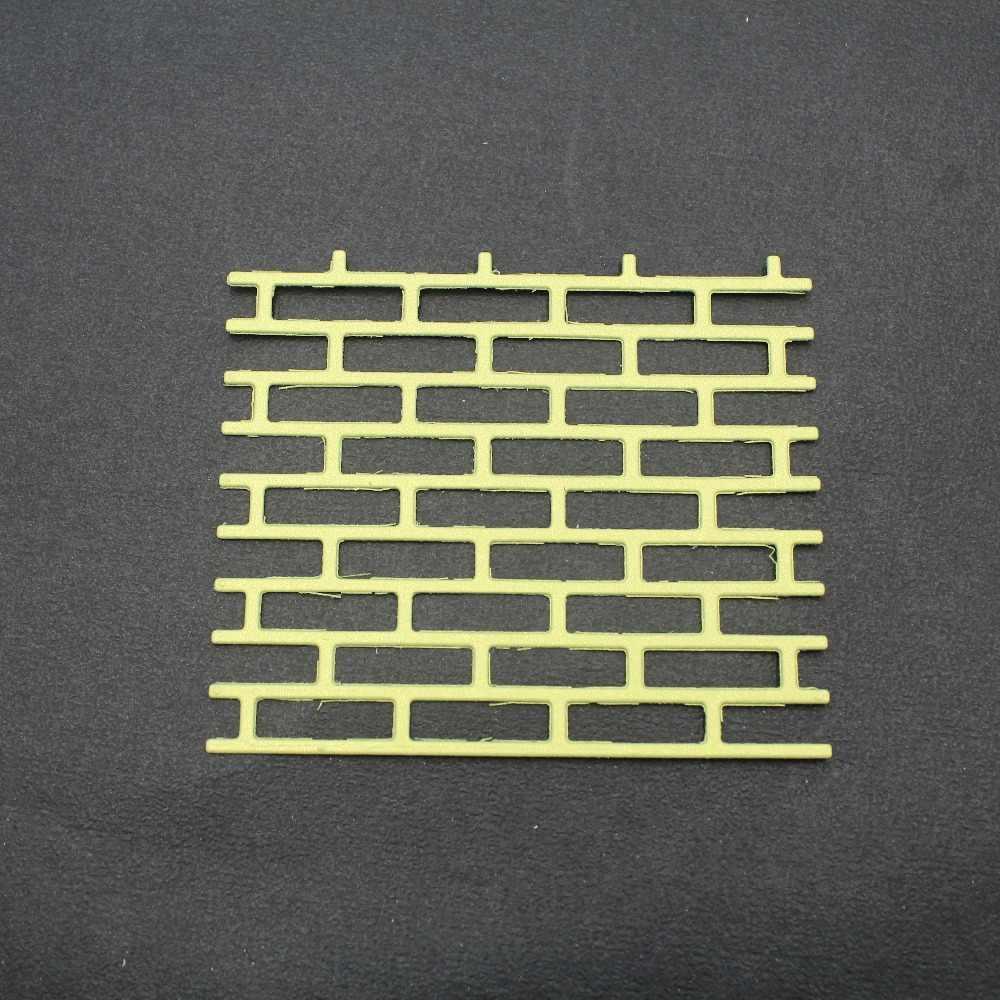Window Fence Metal Cutting Dies Brick Stamps FrameEtched Dies Craft Paper Card Making Scrapbooking Embossing-Die Cuts