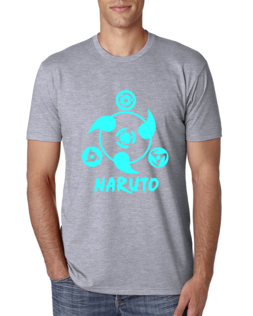 Naruto Men Harajuku Cotton T shirt