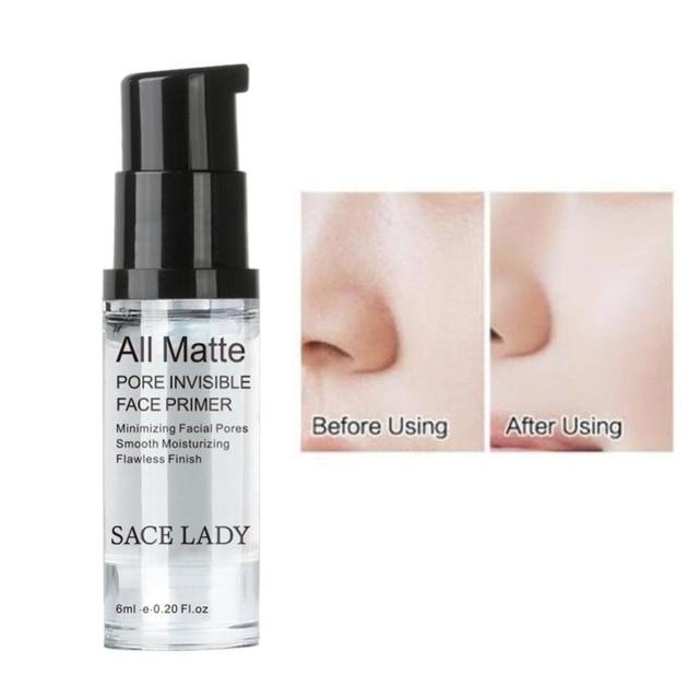 SACE LADY Full Cover 8 Colors Liquid Concealer Makeup 6ml Eye Dark Circles Cream Face Corrector Waterproof Make Up Cosmetic Base