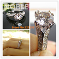 1.25 Ct SONA Fine diamond ring for women sterling silver semi mount wedding ring women jewelry engagement ring