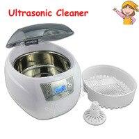 110V/220V Ultrasonic Cleaner for Jewelry Bath Display Household 750ml 50W LED Lighting JP 900S
