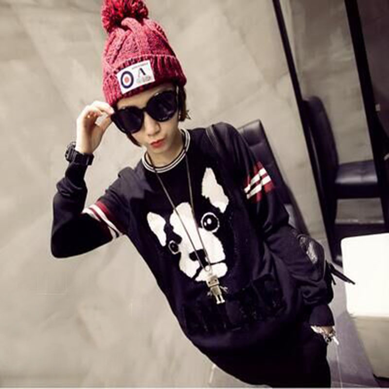 2016 New Fashion Woman's Warm Woolen Winter Hats Knitted For Women Patch Letter Skullies & Beanies 5 Color Gorros 2016 new fashion letter gorros hats bonnets