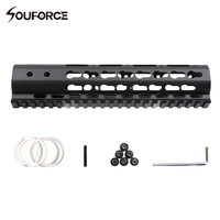 7 9 10 12 13 5 15 AR15 Free Float Keymod Handguard Picatinny Rail For