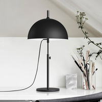 Modern Black table lamps students study adjustable LED lamp eye Nordic creative personality bedroom black light ZA82612