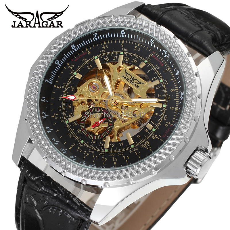 New Business Watches Men Factory Shop Top Quality Automatic Men Watch Free Shipping JAG8052M3S2