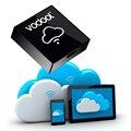 Vodool i-caixa de armazenamento caixa de armazenamento de memória wi-fi com suporte a wi-fi micro sd TF Cartão para o telefone móvel/tablet PC filme compartilhamento de armazenamento de dados