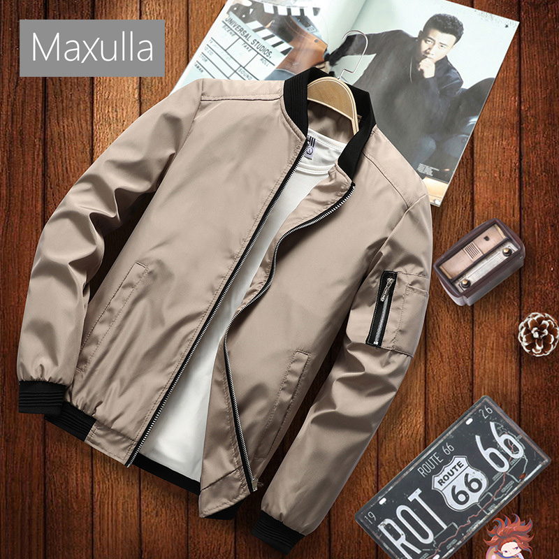 Maxulla Mens Jacket Spring Autumn Men Fashion  Streetwear Hip Hop Anorak Coats Bomber Jackets Mens Outwear Brand Clothing 6XL