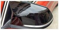 Abs preto gloss substituição espelho capa para bmw f20 f21 f22 f23 f30 f31