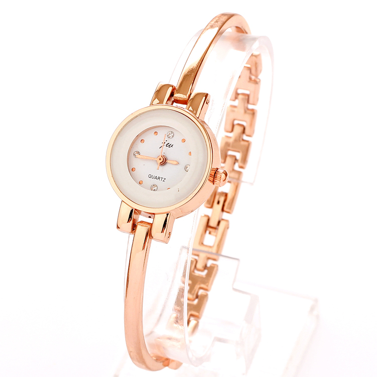 2017 New Watch Luxury Fashion Style Casual Womens Rose Gold Plated Line Bracelet Watches Design Free Shipping In Women S From On